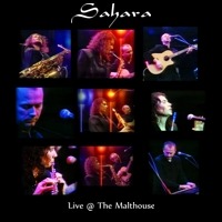 Sahara Live at the Malthouse CD cover