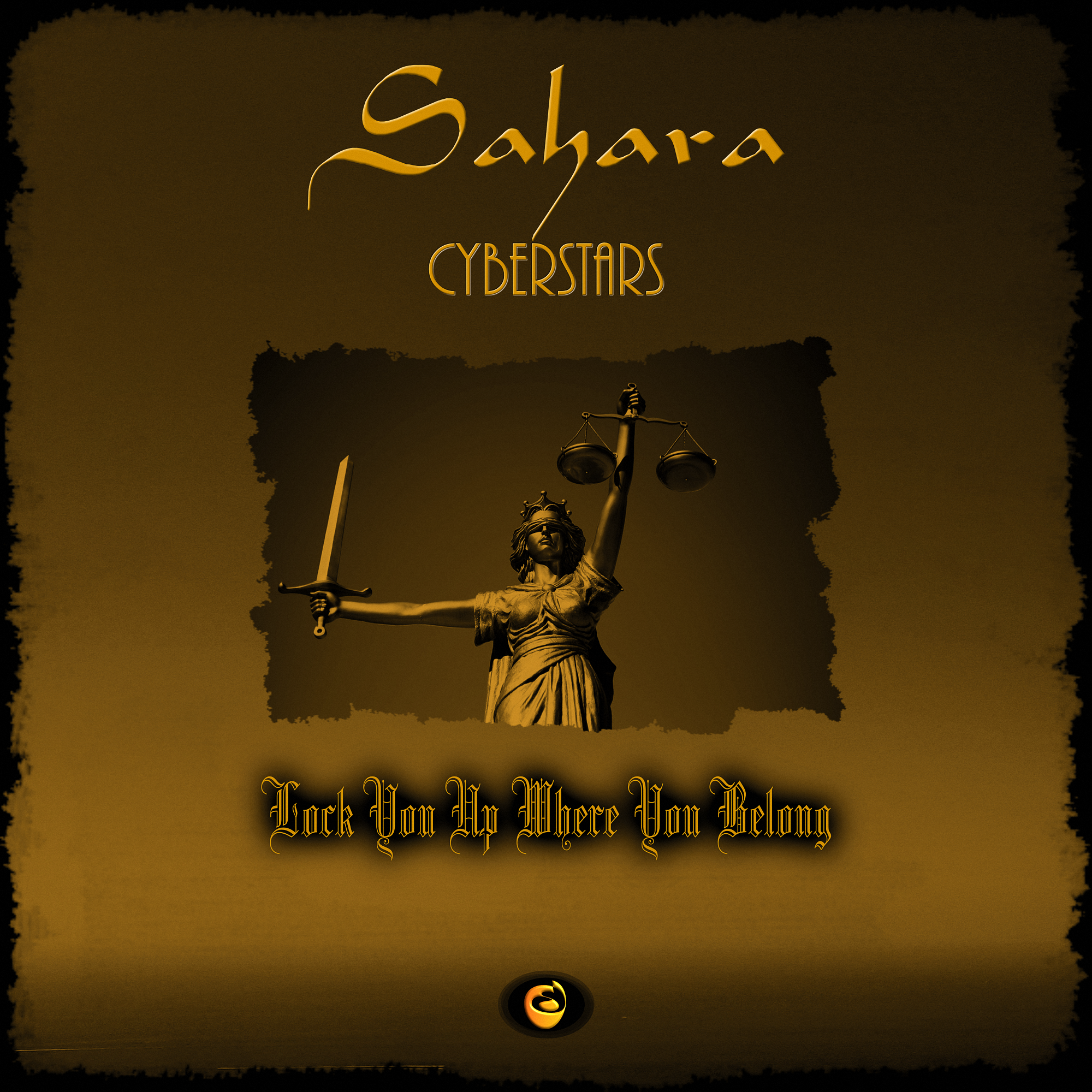 Sahara 'Lock you up where you belong' CD Single Cover 2000